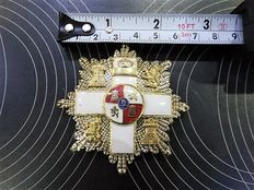 chest star for royalties or higher officers, Spain