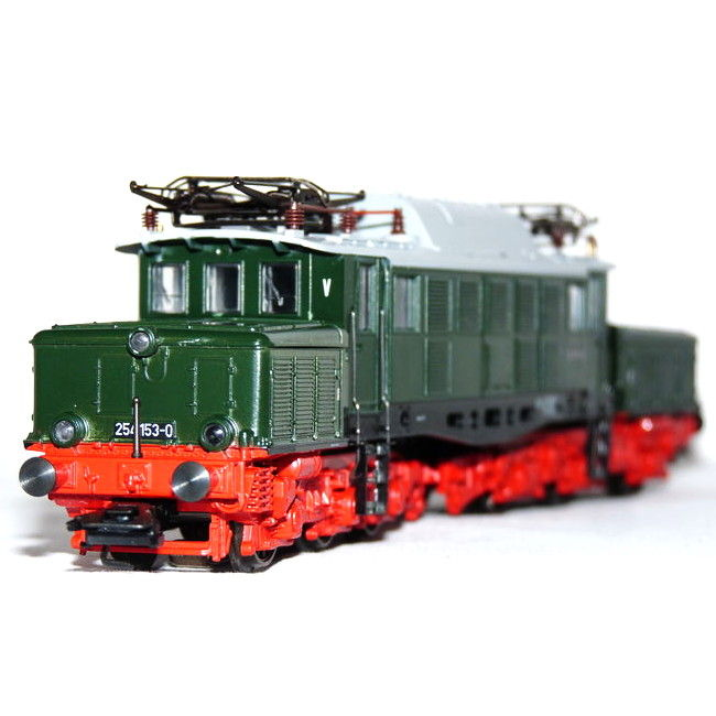"Märklin H0 - 3335 - Electric locomotive ""German crocodile"" of the DR (DDR)"