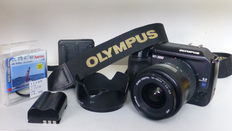 Olymus E300 body with Olympus 14-45 objective