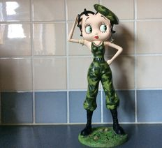 Betty Boop - King Features Syndicate - USA - 2008 - Army - 31 centimeters high