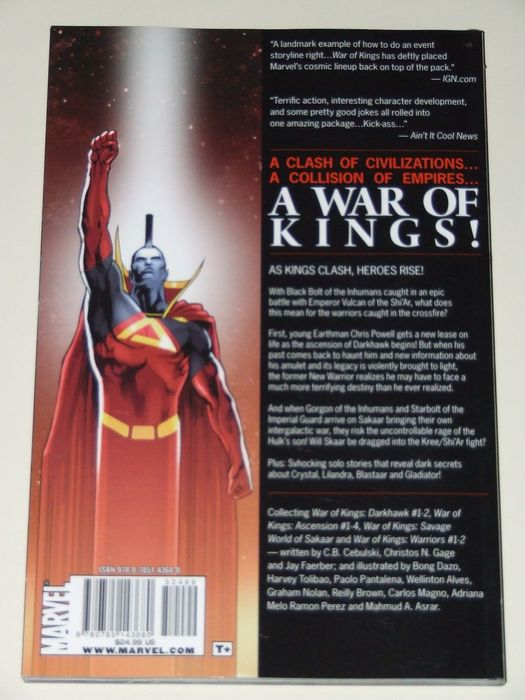 ea4e41f37818f War of Kings   Inhumans - 1x large size hc with dust jacket + 4x TPB - 1st  edition - (2008-2014)