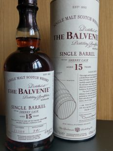 The Balvenie 15 Single Barrel Cask No 11309