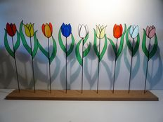 From personal gallery - Tulip garden - bring spring into your home.