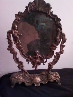 Liberty bronze framed mirror