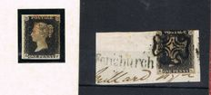 Great Britain – Penny black Stanley Gibbons 1