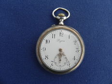 The historic Swiss pocket watch. Longines 1900.