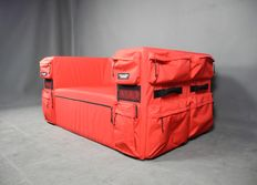 "Quinze & Milan / Eastpak – rare ""Backpack sofa"""