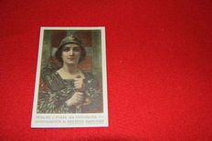 Italy, Lot of 2 Italian Postcards all 9x14 all scanned images since 1895