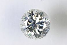 Diamante a taglio brillante da 0,17 ct - E / VS1