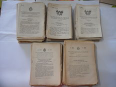 lot of royal documents