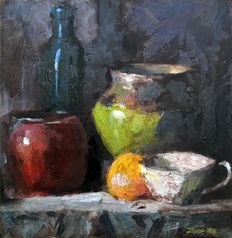 Zoran Zivotic - Still Life with lemon