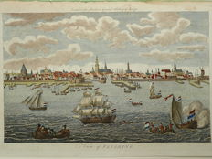 Vlissingen; Percival Barlow - View of Flushing - 1790