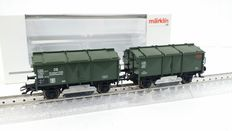 Märklin H0 - 46010 - Double track grinding carriage, jubilee carriage, 10 year insider