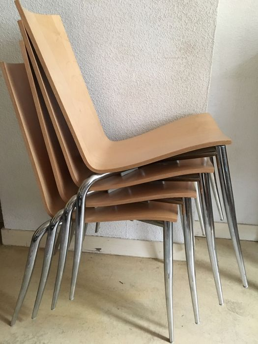 Living Room Bedroom Combo Ideas, Philippe Starck For Driade Dining Chair Olly Tango 4 X Catawiki