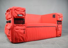Quinze & Milan / Eastpak - Rare 'Backpack sofa'