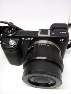 Sony NEX 6L - end of 2013 - Japan made - shop's invoice