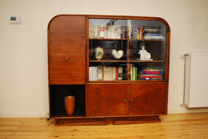 Art Deco bookcase in rosewood - Catawiki