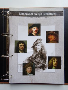 "The Netherlands 2006 – Complete series ""Rembrandt and his students"" in preprint album"