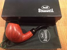 Unsmoked Stanwell freehand pipe, 360 straight grained briar, hand made, Denmark!!