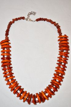 Coral necklace, Mediterranean