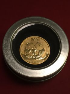 "China – 500 Yuan 2009 ""China Panda"" – 1 oz goud"