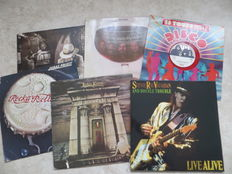Various Artists; lot of six LP's Hardrock seventies, eighties