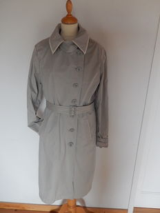Armani Jeans - Trenchcoat - Lined - Light grey