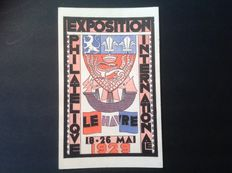 France 18/26 May 1929 – International Philatelic Exhibition, Le Havre, CPA no. 257A.