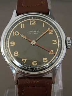 Junghans Military Style -- Men's wristwatch -- Around the 1940s