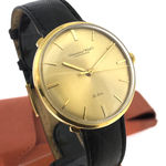 Check out our WC SCHAFFHAUSEN  LIMITED EDITION «DE LUXE» 18k Solid Gold Men's Watch, Cal. 401, 60s