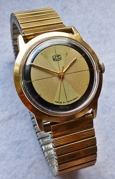 UMF RUHLA -- men's wristwatch from the 1960s