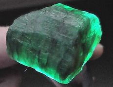 Natural Emerald rough – 34.60 x 28.83 x 23.83 mm - 35.6gm - 178.30ct