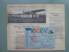 The Netherlands and Overseas – Flight covers and airmail, various starting from 1928