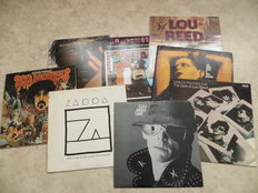 Frank Zappa, Lou Reed, Mothers lot of 8 LP Albums