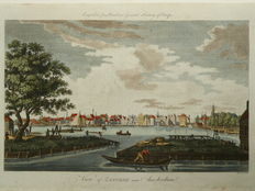 Zaandam; Percival Barlow - View of Zaandam near Amsterdam - 1790