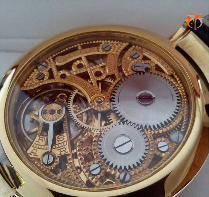 skeleton 1932 omega pocket watch movement marriage wristwatch catawiki