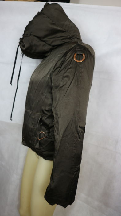brand new 505ce 3a75b Pinko – short winter jacket with high collar, made in Italy ...