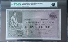 Netherlands - 1000 gulden 1926 - mevius 152-1 - Pick 48