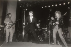 Ilpo Musto - David Bowie with Peter Frampton - The Cat Club - 1987