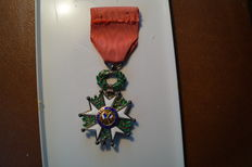 Medal knight of the legion of honour FRANCE