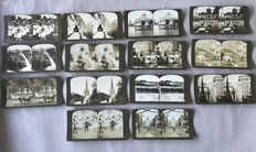 American Stereoscopic Company Manufacturers and Publishers - 14 cards, ca. 1900