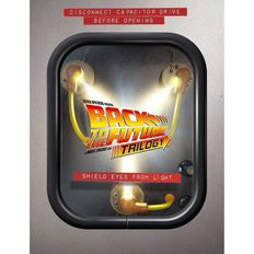 Back to the Future Trilogy - Blu-Ray Limited edition with flux light - includes 52 page book -