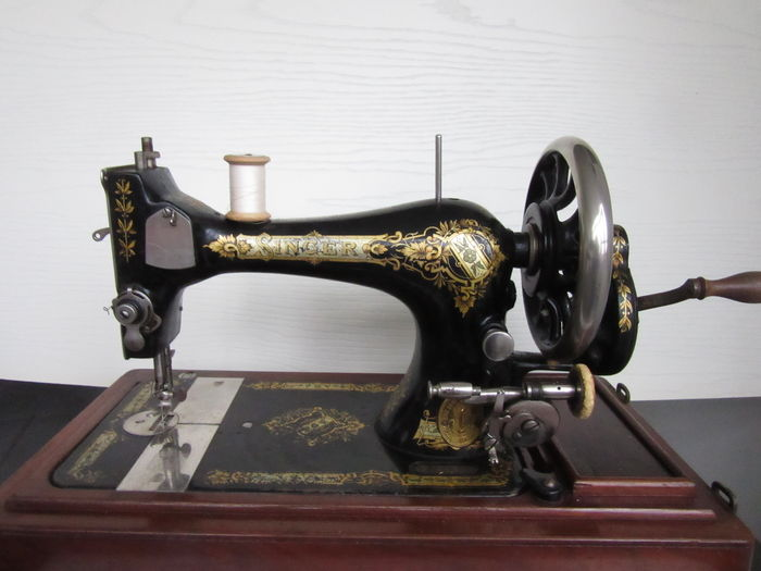 Beautiful Singer Model 40 Manual Sewing Machine 40 Catawiki Delectable Singer Manual Sewing Machine