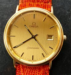 Omega Seamaster golden anniversary Ref. 196750 – men's wristwatch – 2000
