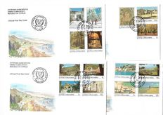 Cyprus 1981/1994 - Illustrated FDC Collection, Michel 556/826
