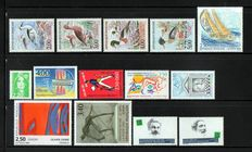 France 1993/2010 – Incomplete collection.