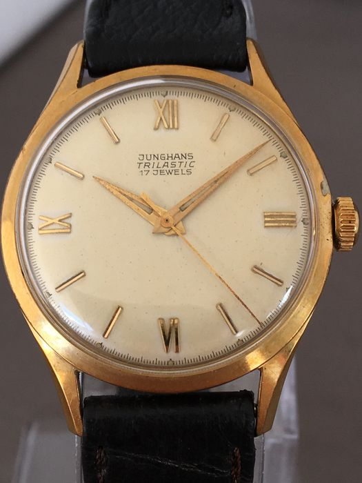 Junghans Trilastic, men's wristwatch - around the 1960s.
