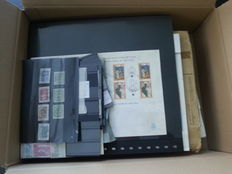 The Netherlands and Overseas - Batch with stamps, postal items and miscellaneous.
