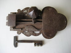 Iron lock - 17th century