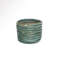 European Bronze Age Ring - USA=10 1/4 - GB= U - 2 cm inside D - Flexible